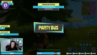 "Free Fortnite Overlay ""Party Bus"" maintenant disponible sur Player.me"