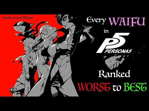 All Persona 5 Waifus Ranked Worst to Best