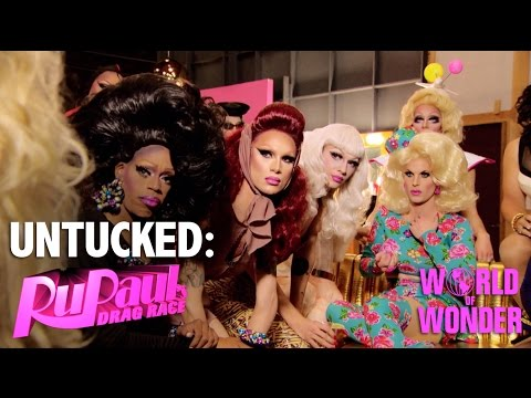 Untucked: RuPaul's Drag Race Episode 2 | Glamazonian Airways