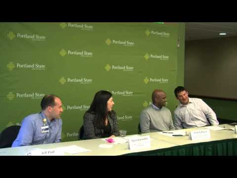 PSU School of Business Career Changer Panel Discussion, April 2013