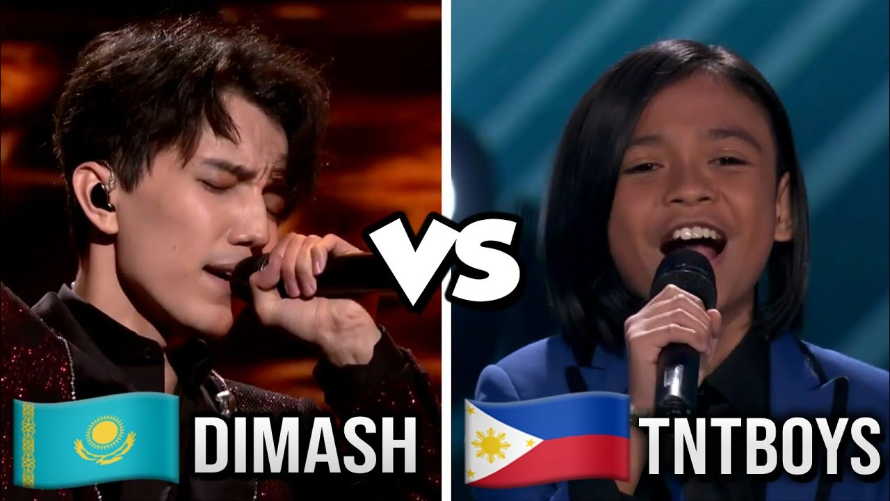 dimash 98 vs tntboys 99 #worldsbest audition