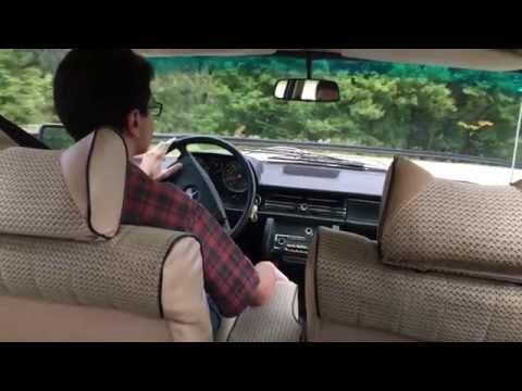 1976 Mercedes-Benz 240D Manual - Ride Along Gatineau Park Quebec Canada