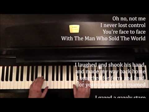 David Bowie: The Man Who Sold the World + piano sheets & lyrics
