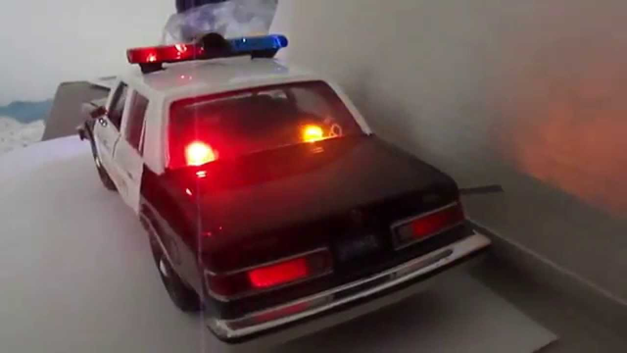 Dodge Cars For Sale >> 1/24 MotorMax Dodge Diplomat police car with working lights!!!!! PART #2 - YouTube