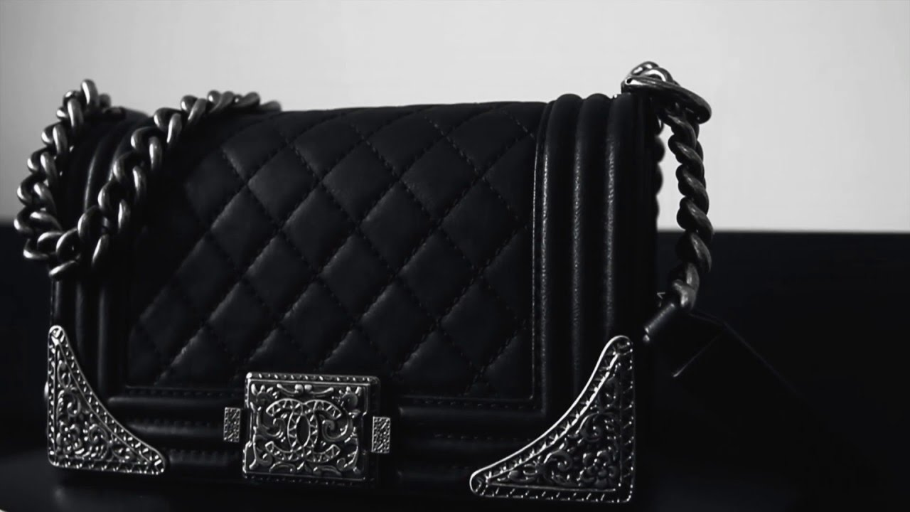 015ee9a17be2 Chanel Boy Bag Limited Edition - YouTube