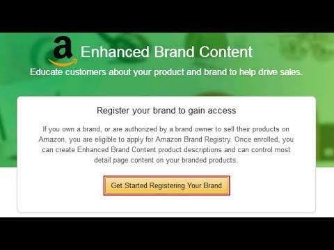How to Create Amazon Enhanced Brand Content EBC Page