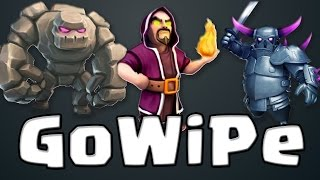 #1 - GOWIPE TH10 VS TH11 MAXED - Clash of Clans ITA