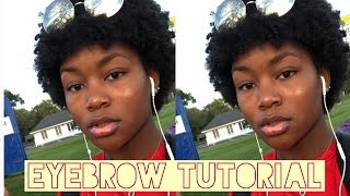How I Do My Eyebrows | Everyday Makeup Routine!