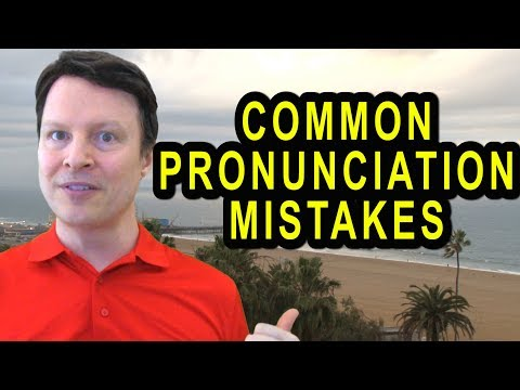 Do you make these pronunciation mistakes? | Learn English Live with Steve