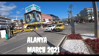 ALANYA Прогулка по центру Иду на пятничный рынок 5 марта 2021 Турция