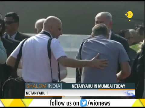 PM Benjamin Netanyahu in Mumbai today