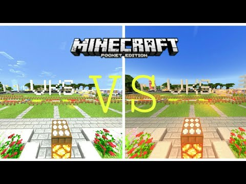 Minecraft PE - BEST SHADERS : BLPE vs Energy Shaders - MCPE Indonesia