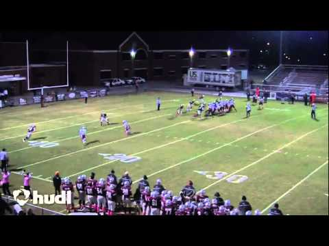 D.Hall 2014 Senior Year Football Highlights.