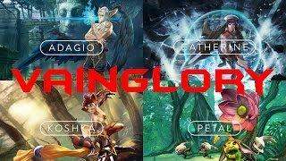 Vainglory - iOS / Android - HD (Sneak Peek) Gameplay Trailer