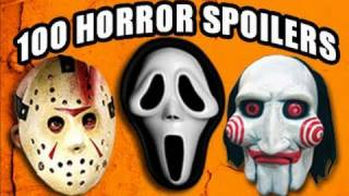 Repeat youtube video 100 Horror Movie Spoilers in 5 Minutes
