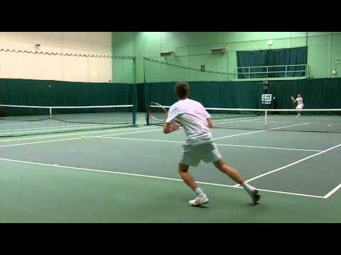 Sean O'Rourke College Tennis recruitment video