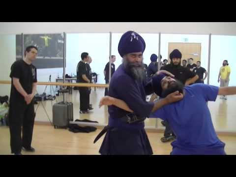 Meeting of Masters, Pat O'Malley, Maul Mornie, Nidar Singh Nihang