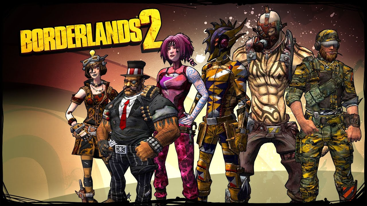 Borderlands 2 Class Wallpaper: Co Op (With Drago)