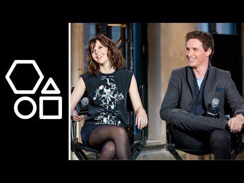 Eddie Redmayne & Felicity Jones | AOL BUILD