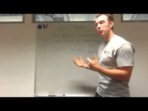 Body Fat Set/Settling Point and Finding your Functional Range