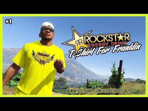 GTA V: Rockstar T-Shirt For Franklin | Yellow | Free Download In Description [#1]