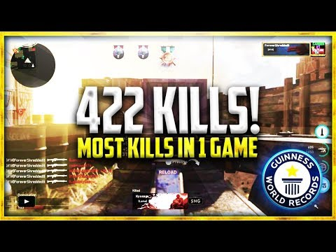 """422 KILLS IN A SINGLE GAME OF WW2! """"WORLD RECORD"""""""