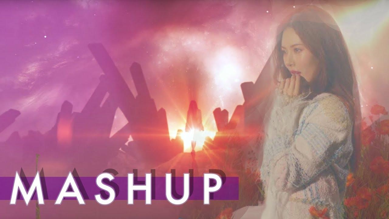 HYUNA x BTS x PRODUCE 101 – Babe /Blood, Sweat & Tears /Never MASHUP