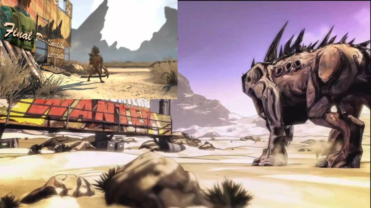 Borderlands 2 Intro - Exploring Mars