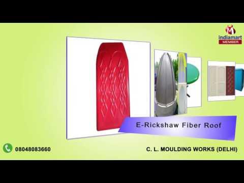 FRP Table and Fiber Dustbin By C. L. Moulding Works, Delhi