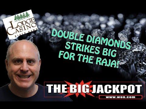 💣 The Raja Scores On Double Diamonds @ The Lodge Casino   Black Hawk, Colorado 🎰