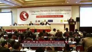 27,28 y 29 de noviembre II Congreso Internacional de Estudios Electorales