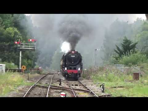 70000 Britannia STUNS Abergavenny With The Welsh Borders Express 5.8.20