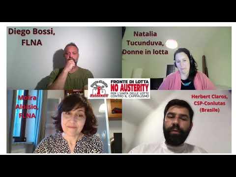 Pandemia e vaccini: intervista a Herbert Claros (CSP-Conlutas) e Moira Aloisio (FLNA)