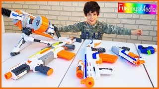 Learn Sizes with Nerf Toys for Children and Toddlers