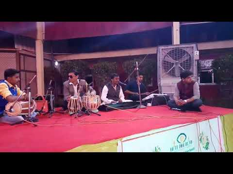 Blind Student Perform Singing & Music Instruments