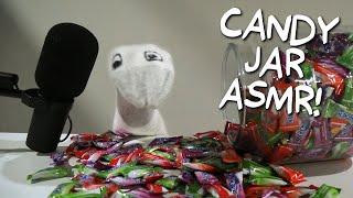 ASMR Candy Jar | Puppet ASMR with Todd Socket