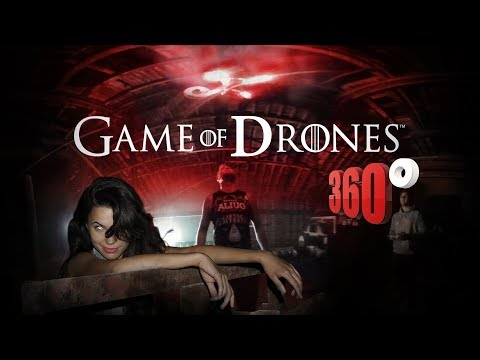 GAME of DRONES - 360 VR VIDEO GAME -  experience the google daydream rift gameplay overview 2016