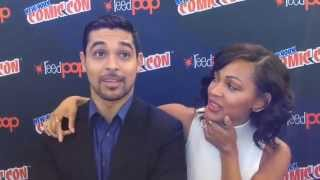 Meagan Good & Wilmer Valderrama - Minority Report Interview