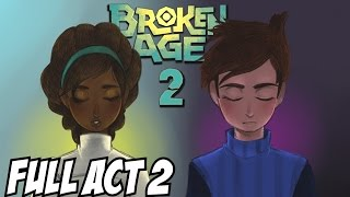 Broken Age Act 2 Walkthrough Part 1 Gameplay Ending Full Let's Play Playthrough Review Guide