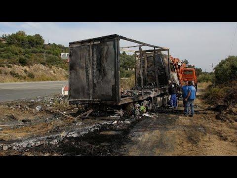 Greece: 11 people die in head-on collision