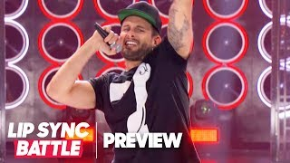 """Nico Tortorella of """"Younger"""" Performs """"Where Is the Love"""" 