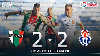 Palestino vs Universidad de Chile | Campeonato PlanVital 2020 - FECHA 8