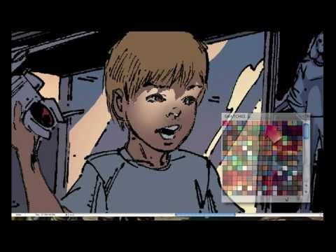 How To Color Comic Books In Photoshop