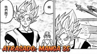EL CAPITULO 35 SE ATRASA - MANGA DE DRAGON BALL SUPER | Bardock