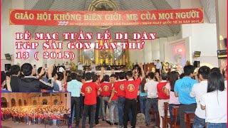 Bế mạc Tuần lễ di dân TGP Sài Gòn lần thứ 13 (2015)