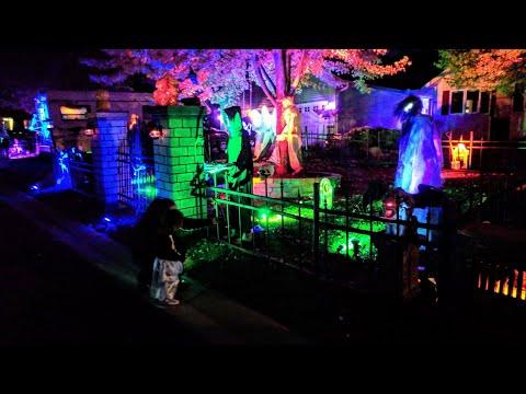 Halloween Decorations GRAVEYARD 2018
