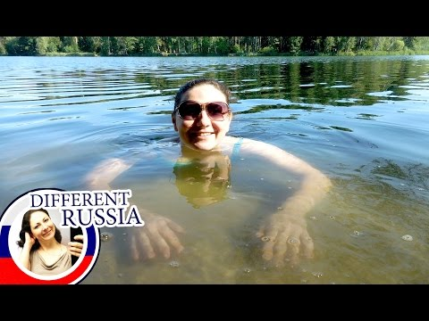 How Russians Spend Summer Weekends 2016? Vlog From a Forest Lake in Moscow Region