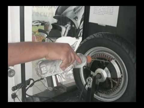 motor de una moto electrica