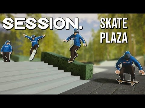 Session - Beautiful Skate Plaza   NS AND CHILL EP. 18