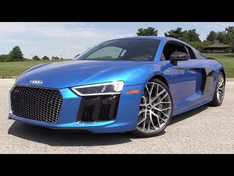 2017 Audi R8 V10 Plus - Start Up, Road Test & In Depth Revie